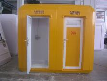 Polyester WC Kabin